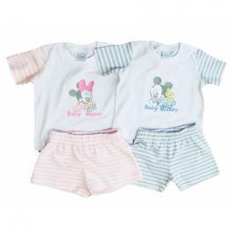 Conjunto Minnie y Mickey Disney Babies Surtido