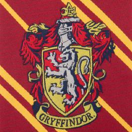 Corbata Infantil Gryffindor Harry Potter Logo Tejido
