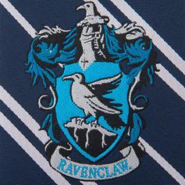 Corbata Ravenclaw Harry Potter Logo Tejido