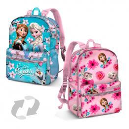 Mochila Reversible Frozen Disney Sister Queens 31Cm