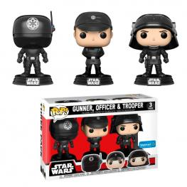 Set 3 Figuras Pop Star Wars Gunner Officer & Trooper Exclusive