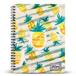 Cuaderno A4 Ananas Oh My Pop
