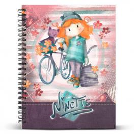 Cuaderno A4 Ninette Bicycle