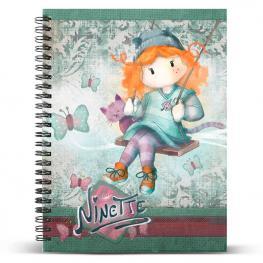 Cuaderno A4 Ninette Swing