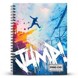 Cuaderno A4 Pro Dg Jump