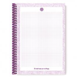 Cuaderno A4 Purple & Pale Anillas