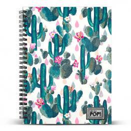Cuaderno A5 Cactus Oh My Pop