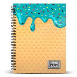 Cuaderno A5 Ice Cream Oh My Pop