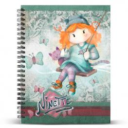 Cuaderno A5 Ninette Swing