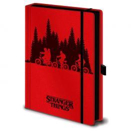 Cuaderno A5 Premium Upside Down Stranger Things
