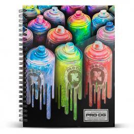 Cuaderno A5 Pro Dg Colors