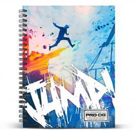 Cuaderno A5 Pro Dg Jump