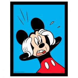 Cuadro Mickey Sorprendido Disney
