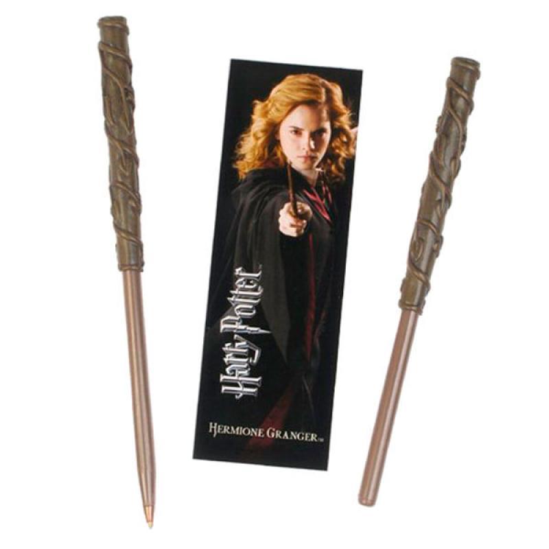 Varita Boligrafo y Marcapaginas Hermione Granger Harry Potter