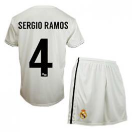 Equipacion Real Madrid Sergio Ramos Junior