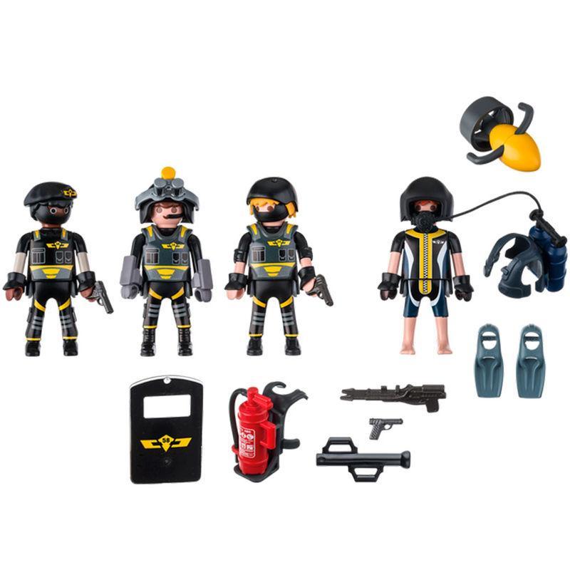Equipo de Las Fuerzas Especiales Playmobil