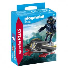 Espia Con Jet Playmobil Special Plus