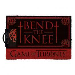 Felpudo Bend The Knee Targaryen Juego de Tronos