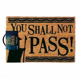 Felpudo el Señor de los Anillos You Shall Not Pass