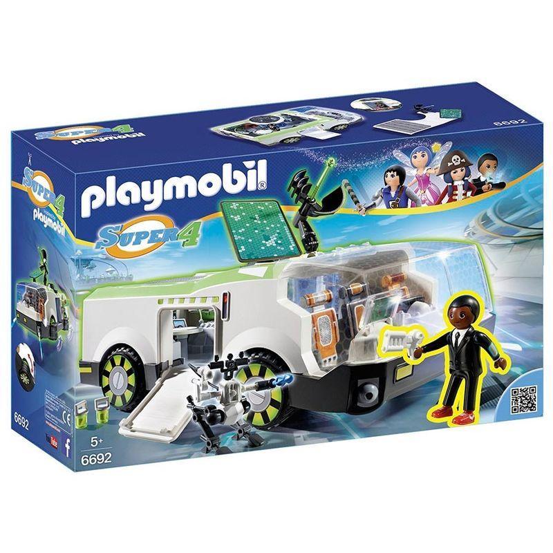 Vehículo Camaleón Gene Playmobil Super 4