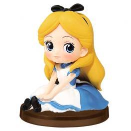 Figura Alicia En el Pais de Las Maravillas Disney Q Posket 7Cm