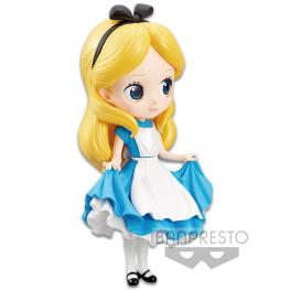 Figura Alicia En el Pais de Las Maravillas Disney Q Posket 14Cm