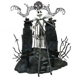 Figura Articulada Jack Skellington Pesadilla Antes de Navidad Disney Serie 1 18Cm