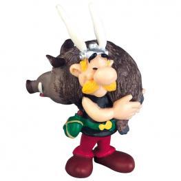 Figura Asterix Con Jabali Asterix el Galo 6Cm