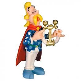 Figura Asuracenturix el Bardo Asterix el Galo 6Cm