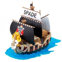 Figura Barco Spade Pirates Ship Model Kit One Piece 15Cm