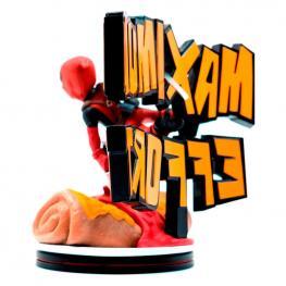 Figura Diorama Maximo Esfuerzo Deadpool Marvel 14Cm
