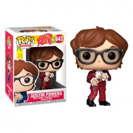 Figura Pop Austin Powers Austin Striped Exclusive