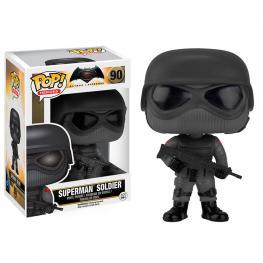 Figura Pop Batman Vs Superman Superman Soldier