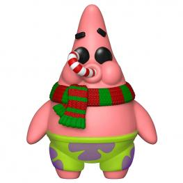 Figura Pop Bob Esponja Patrick Christmas