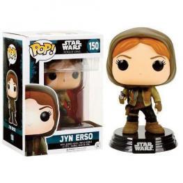 Figura Pop! Bobble Star Wars Rogue One Jyn Erso Hooded