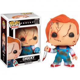 Figura Pop Bride Of Chucky Scarred Chucky Exclusive