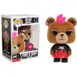 Figura Pop Build A Bear Furry N Fierce Flocked Chase
