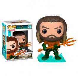 Figura Pop Dc Comics Aquaman Arthur Curry In Hero Suit