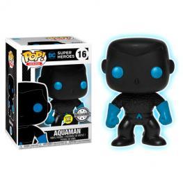 Figura Pop Dc Comics Justice League Aquaman Silhouette Exclusive