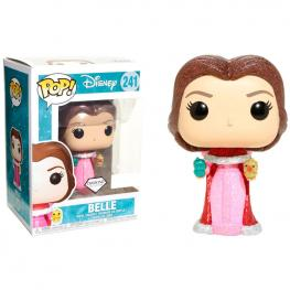 Figura Pop Disney Beauty & The Beast Belle With Birds Glitter Exclusive