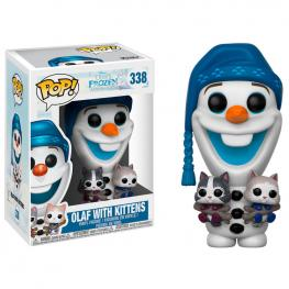 Figura Pop Disney Frozen Olaf With Cats