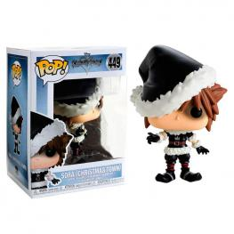 Figura Pop Disney Kingdom Hearts Christmastown Sora Exclusive