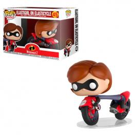 Figura Pop Disney los Increibles 2 Elastigirl On Elasticycle