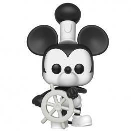 Figura Pop Disney Mickey's 90Th Steamboat Willie