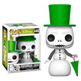 Figura Pop Disney Pesadilla Antes de Navidad Snowman Jack