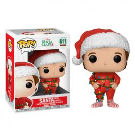 Figura Pop Disney The Santa Clause Santa With Lights