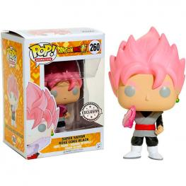 Figura Pop Dragonball Z Super Saiyan Rose Goku Exclusive
