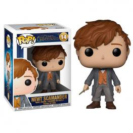 Figura Pop Fantastic Beasts 2 The Crimes Of Grindelwald Newt Scamander
