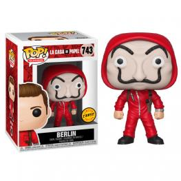 Figura Pop la Casa de Papel Berlin With Mask Chase