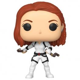 Figura Pop Marvel Black Widow White Suit